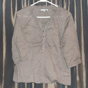 Old Navy 3/4 sleeve blouse size M